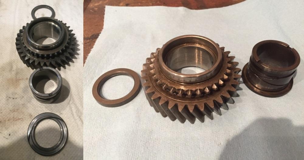 Triumph Stag Gearbox J Type Overdrive Bearing Rebuild Repair Kit