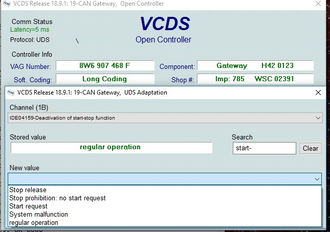 VCDS mods for B9 - Page 2